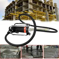 1100W Electric High Speed Concrete Vibrator w/ 14-3/4 Ft Rod Remove Bubble Level