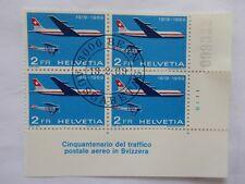 Switzerland 1969 Publicity block of 4 fine used