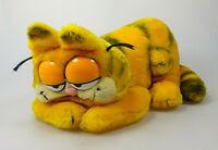 Garfield Plüsch Figur groß lieged ca. 28 cm lang DAKIN Vintage