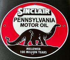 Sinclair Pennsylvania Motor Oil Gas gasoline sign