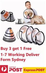 Elizabethan Pet Protective Collar Dog Cat Anti-lick Cone Wound Healing Recovery