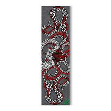"Mob Skateboard Griptape Wolfbat World Snake 9"" x 33"" Grip Tape Sheet"