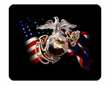 "9""x7"" MOUSE PAD - Marines 1 USA Military Soldier Computer Mousepad Office"