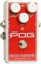 Nano Pog Polyphonic Octave Generator Pedal, ELECTRO HARMONIX,