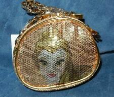 Disney Bell Sequin Handbag/Coin Purse With Gold Chain Shoulder Strap NWT