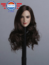 Custom 1/6 Scale Anne Hathaway Head Sculpt GACTOYS GC012A for 12'' female figure