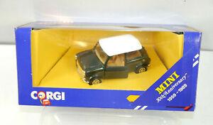 CORGI C330/5 Mini Cooper Racing Green Metal Model Car 1:43 (K39) #N