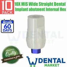 10X MIS Wide Straight Dental Implant abutment Internal Hex
