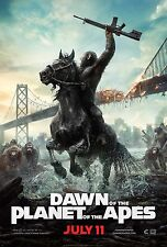 Dawn of the Planet of the Apes (2014) Movie Poster (24x36) - Gary Oldman NEW v2