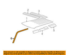GM OEM Roof-Drip Weatherstrip Seal Molding Right 15113130