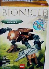 Lego Bionicles Rahaga Pouks New 4869 Factory Sealed 2004