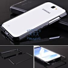 Black Metal Aluminum Frame Bumper Case Cover For Samsung Galaxy Note 2 II N7100