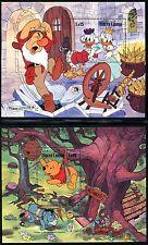 Sierra Leone Disney characters Mark Twain & Brothers Grimm 1986 x14618c
