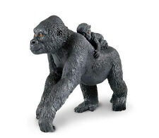 Lowland Gorilla Mom with Baby #294729 ~ FREE SHIP/USA w/$25.+ SAFARI Products