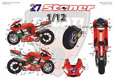 "[FFSMC Productions] Decals 1/12 Ducati GP7 2007 ""Valencia GP"""