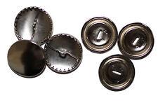 Überziehbare Knöpfe, 22mm - 10 Stück, Knopfrohlinge aus Metall
