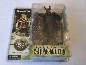 MCFARLANE SPAWN  SKULLSPLITTER. THE VIKING AGE Rare Figure!!