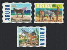Aruba The Donkey 3v 1999 ** MNH SG#233-235