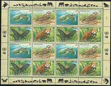 Timbres Animaux Nations Unies Vienne F 267/70 ** année 1998 lot 4206
