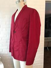 BURBERRY coat Blackfriar rainproof packable RED