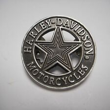 HARLEY DAVIDSON ***** star ***  PEWTER PIN  BEAUTIFUL