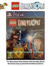 LEGO Dimensions Disc PlayStation 4 PS4 Software Only Solus - Boxed No Manual -