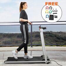 Treadmill Electric Motorized Power 2.0 HP Folding Running Machine Home Gym LCD