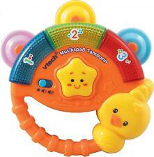 vtech Baby MUSIKSPAß TAMBURIN Zahlen Geräusche lernen ab 9 Monaten Musik