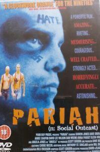 """Pariah"" (n: Social Outcast) Movie Starring Damon Jones Certificate 18 Dvd"