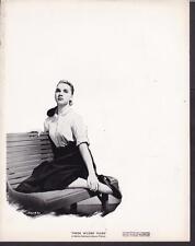 Barbara Stanwyck These Wilder Years 1956 artwork original movie photo 27771