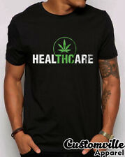 🔥Healthcare THC Heal Medical Marijuana T Shirt. Weed CBD Cannabis Card Legalize
