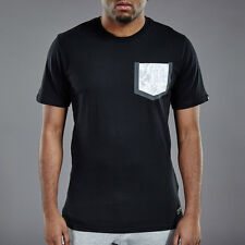 Nike F.C. Pocket Men's T shirt Size M - Black / Grey Pocket DEADSTOCK