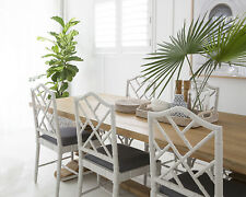 French Grey Chippendale Dining Chair - HAMPTONS - Caribbean