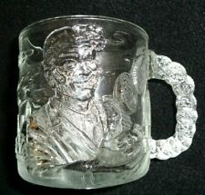 """Vintage McDonalds Batman Forever 1995 """"Two Face"""" Glass Cup Mug ~Collectible"""