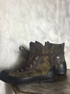 New Converse All Star Chuct Taylor Army Camo Mens Sz 5.5 Womens 7.5
