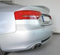 Spoiler For Audi A5 8T Coupe Standard trunk - rear boot Lip wing lid cover