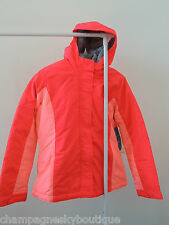 NWT $59.94 Girls Size XL 14 * OLD NAVY * 3-N-1 Neon Coral Pink Jacket Coat