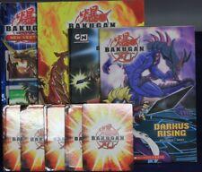 Bakugan Battle Brawlers Lot 4 Books + 5 Cards