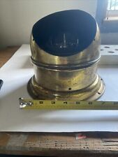 Danforth Brass Dome Binnacle And Constellation Compass Nautical Vintage