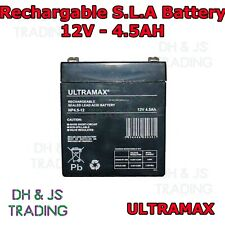 Ultra Max 12V 4.5AH Battery Alarm Security Response Solar Alarm & Bell