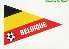 FLAG BELGIQUE BELGIUM FIGURINE STICKER WORLD CUP VALLARDI MONDIALE ITALIA 90