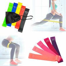 5er-Set Widerstandsbänder Fitnessbänder Gymnastikband Latex-Band Sport Expander