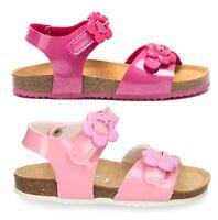 LELLI KELLY SONIA LK4581 FUXIA GLITTER scarpe sandali bambina sneakers cinturino