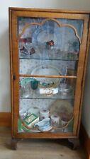 Vintage china display cabinet