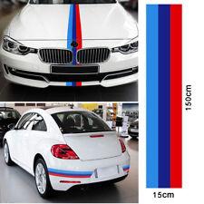 "59"" Colored Car Stripe Sticker Vinyl Decal Fit BMW M3 M4 M5 M6 3 5 6 7 Series"