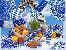 Oktoberfestdekoration, Biergartenausstattung,Bayerische Deko -16 Teilig.