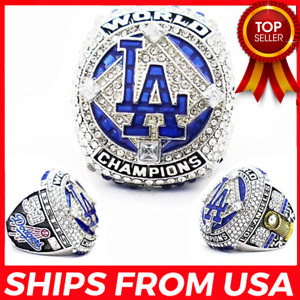 FROM USA - Dodgers 2020 LA 'World S'eries Championship Replica Ring Los Angeles