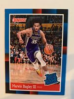 2018-19 Panini Rated Rookie 1988 Donruss RC Card Marvin Bagley Sacramento Kings