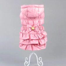 Hundebekleidung Hundejacke Mantel Wintermantel Chihuahua Rosa Yorkie XS Luxus