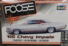 1965 CHEVROLET IMPALA FOOSE DESIGN REVELL 1:25 SCALE PLASTIC MODEL CAR KIT